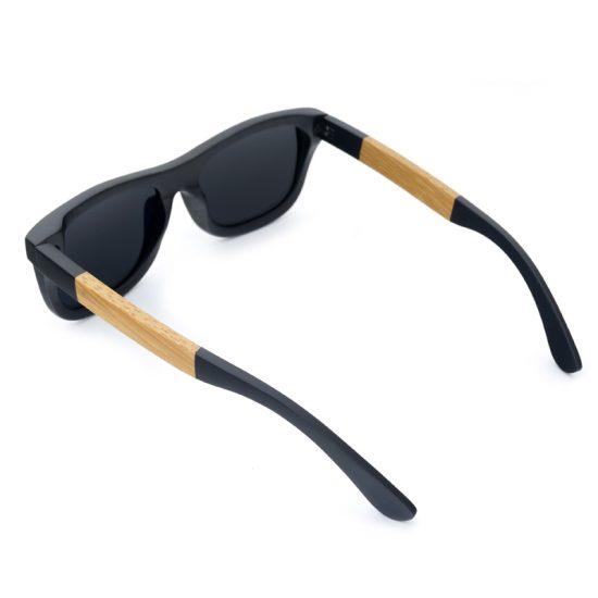 Bobo bird fa napszemüveg fekete bambusz